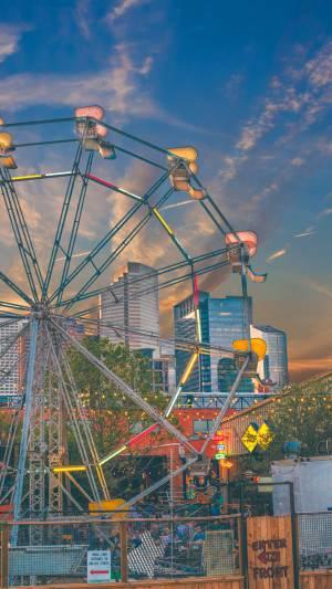 Ferris wheel in Houston