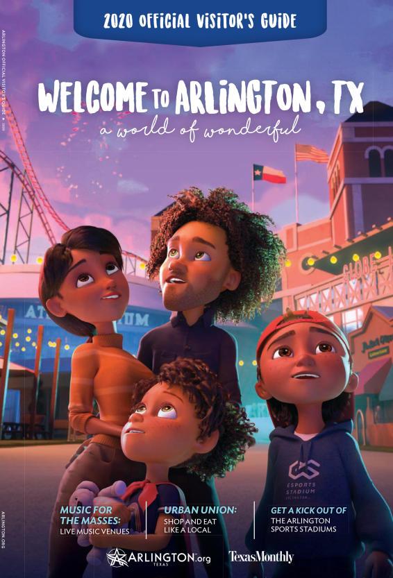 Official 2020 Arlington Texas Visitors Guide