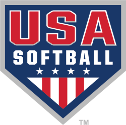 USA Softball Sports Logo