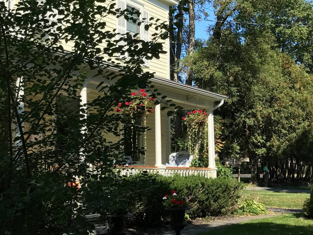 Cooperstown Bed and Breakfast in bloom