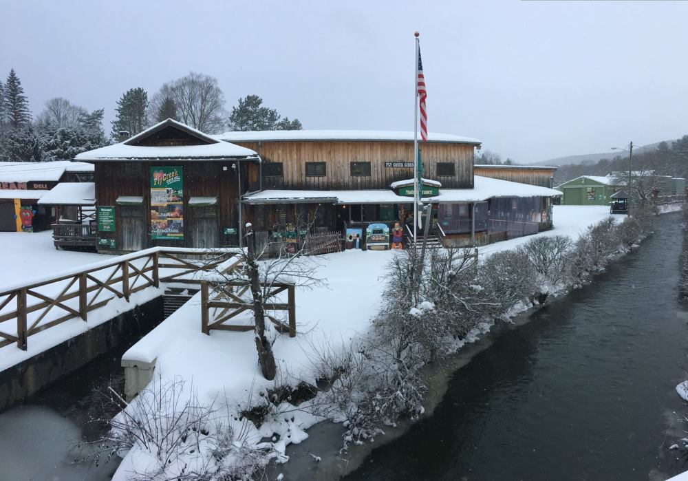 Fly Creek Cider Mill & Orchard Winter
