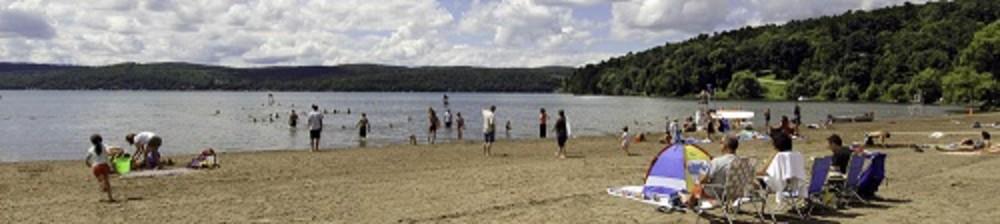 Glimmerglass State Park Beach