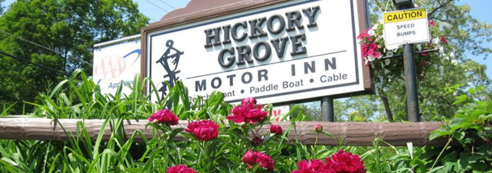 Hickory Grove Motor Inn overlooking Otsego Lake