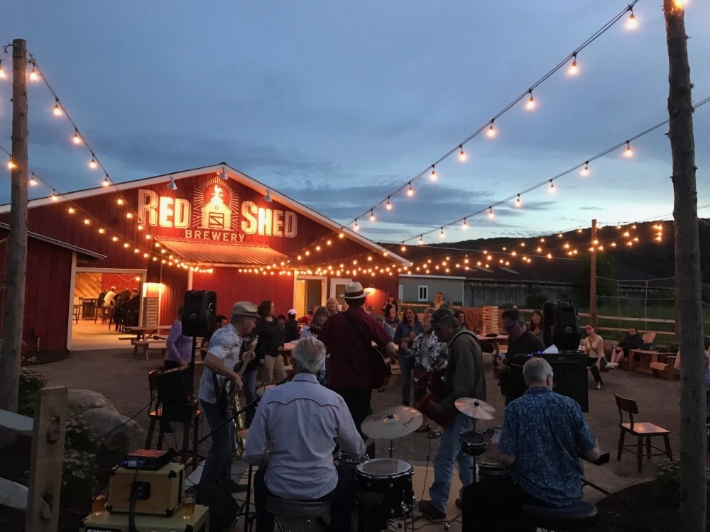 Red Shed Brewery Cooperstown Tap Room - Outside
