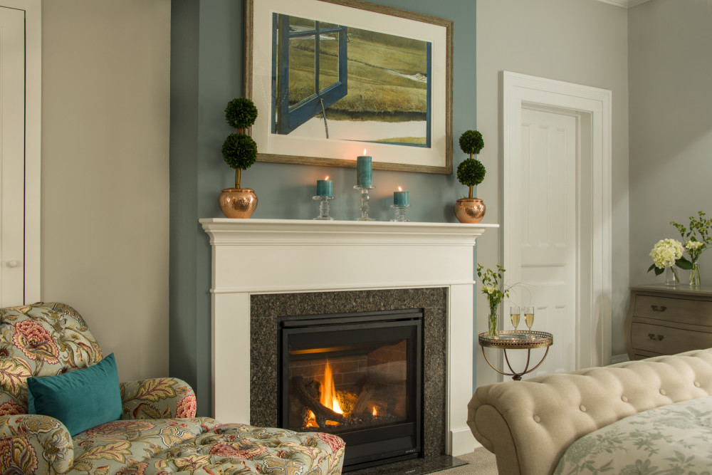 Spa Suite Fireplace