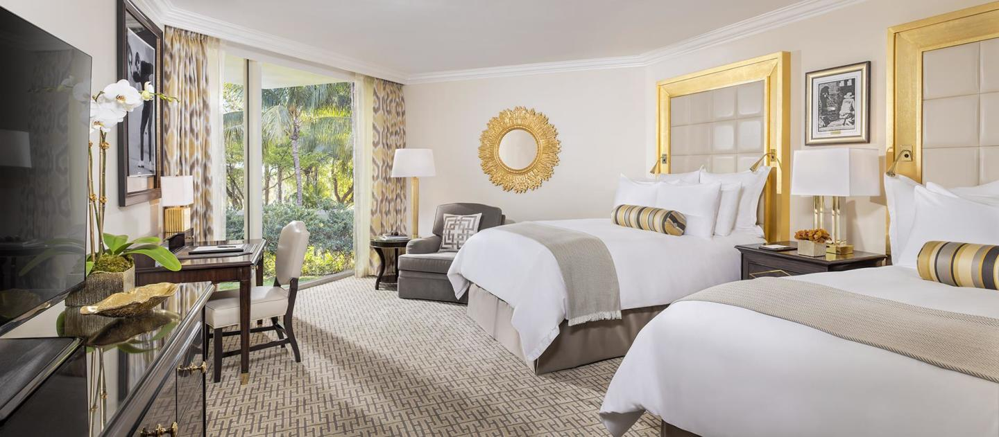 The New Villa Deluxe Double Guest Room.