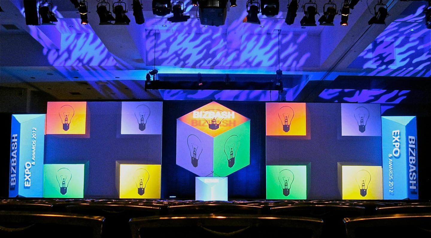 3D Projection Mapping is a breathtaking hi tech application, ask us how.