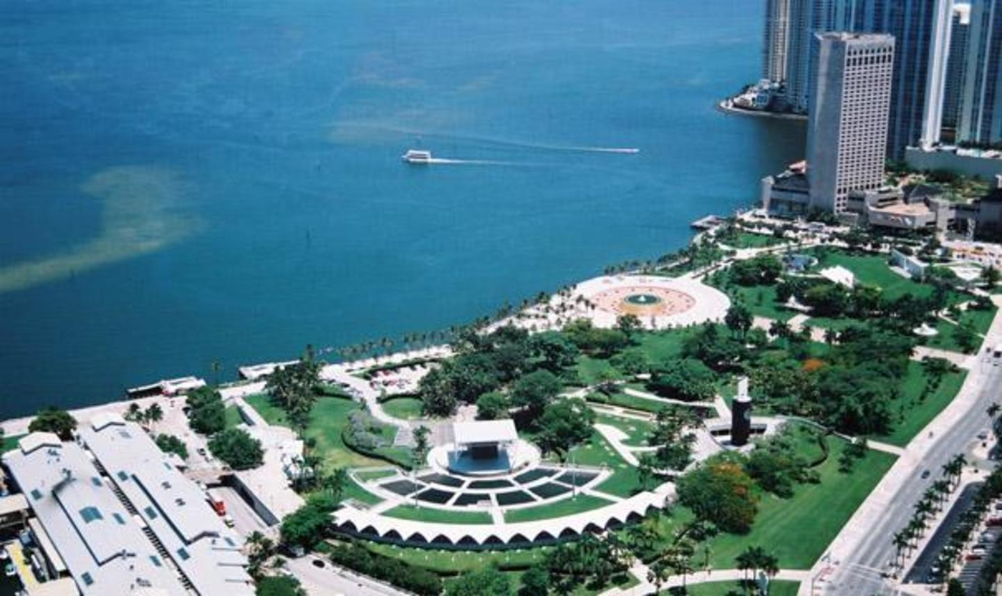 Aerial View of Bayfront Park