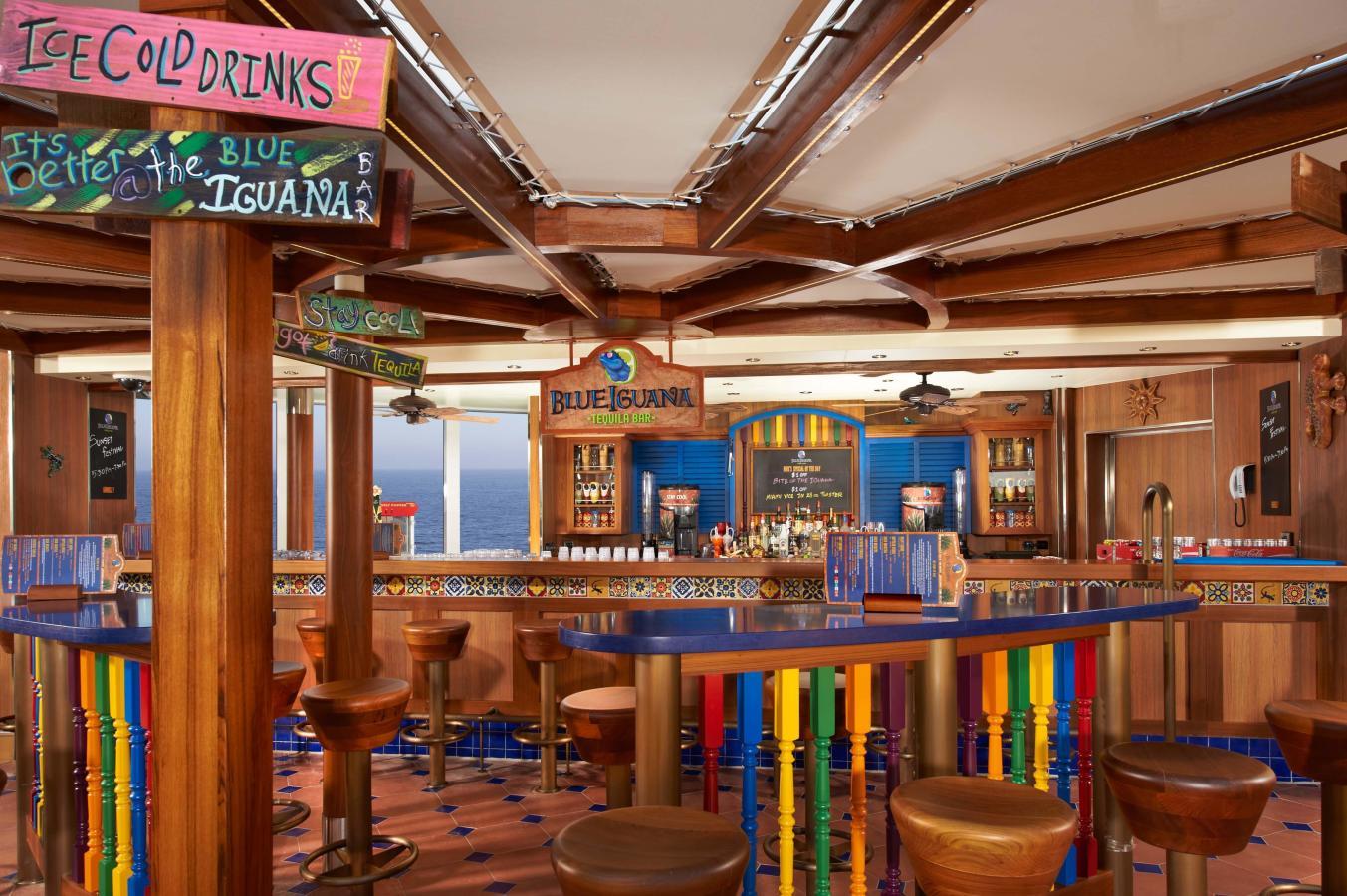 Carnival's BlueIguana Tequila Bar