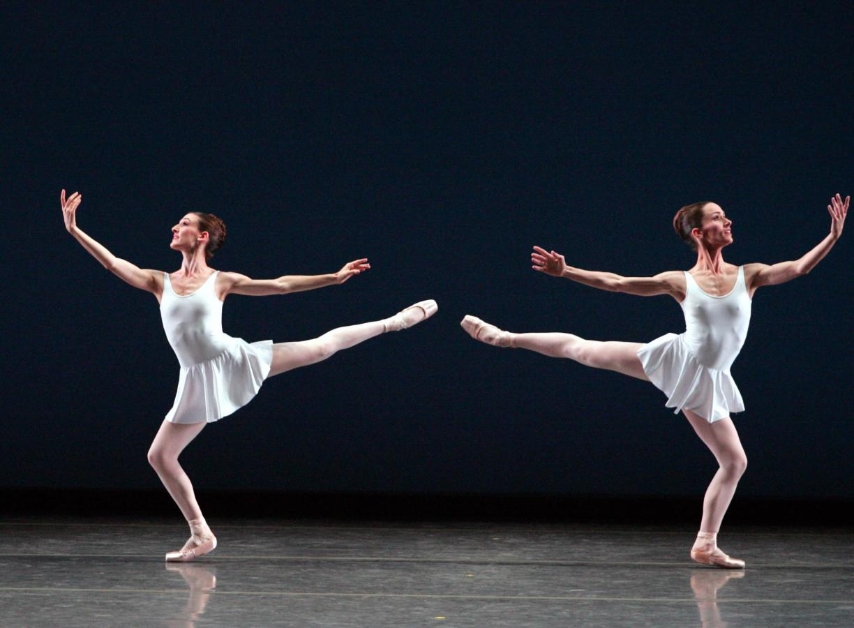 Miami City Ballet dancers in Concerto Barocco. Choreography by George Balanchine © The George Balanc