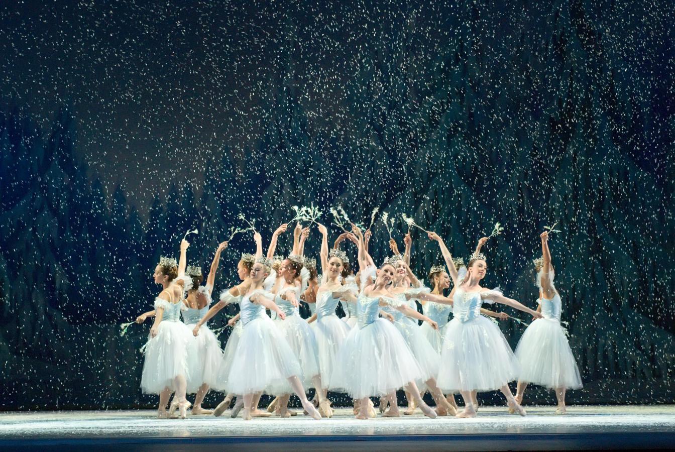 Miami City Ballet's production of George Balanchine's The NutcrackerTM.  Choreography by George Bala