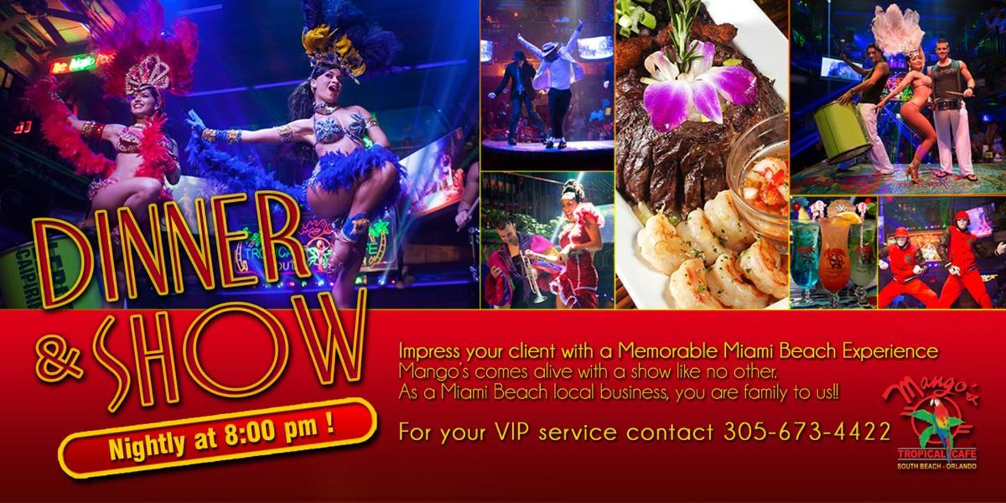 Bring your Corporate Client to the best show in town!