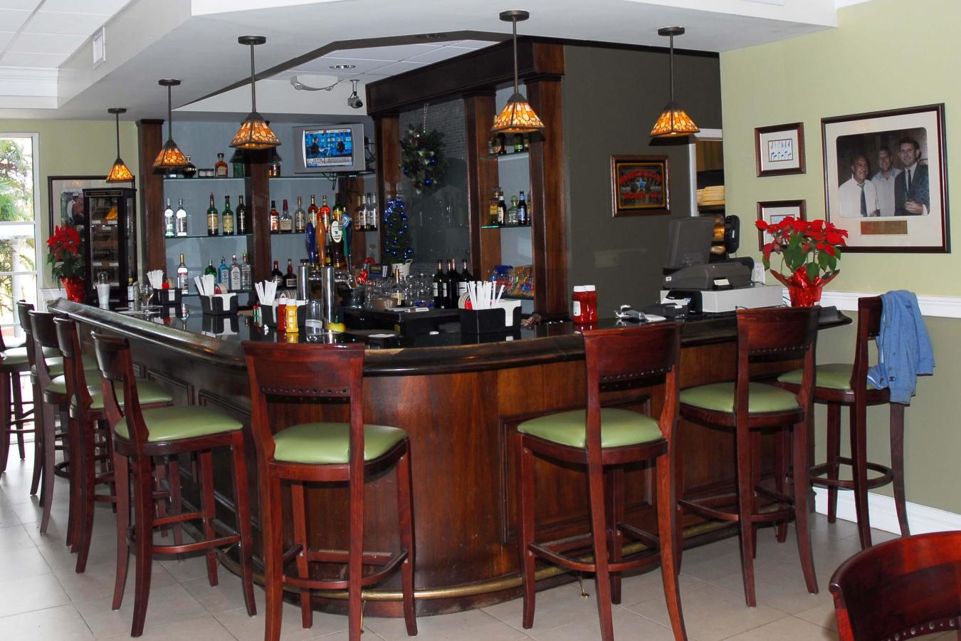 Guests may enjoy lunch or snacks in our beautiful lunch facility