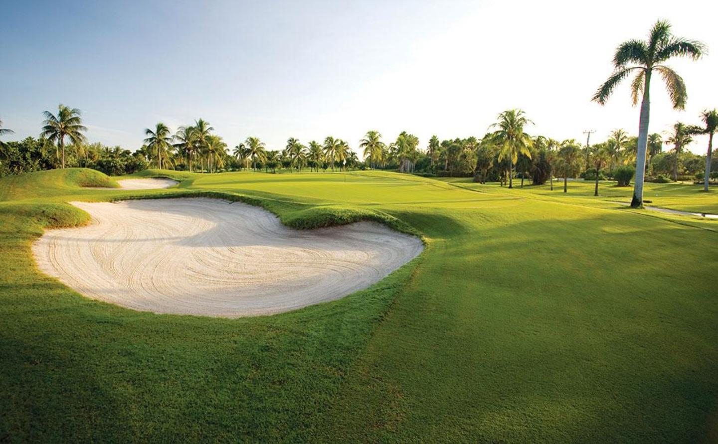 Surrounded by Miami's natural beauty at Crandon Golf at Key Biscayne
