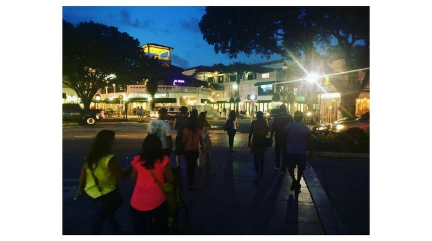 lively nights at CocoWalk