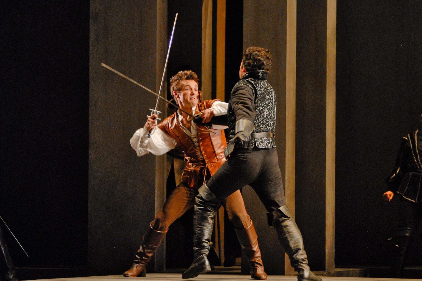 Sebastien Gueze and Daniel Shirley in Florida Grand Opera's Romeo et Juliette 2012