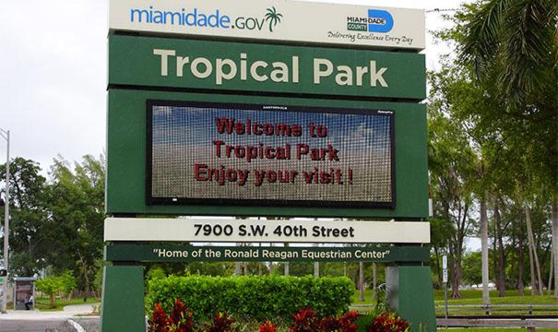 Tropical Park Señal de entrada