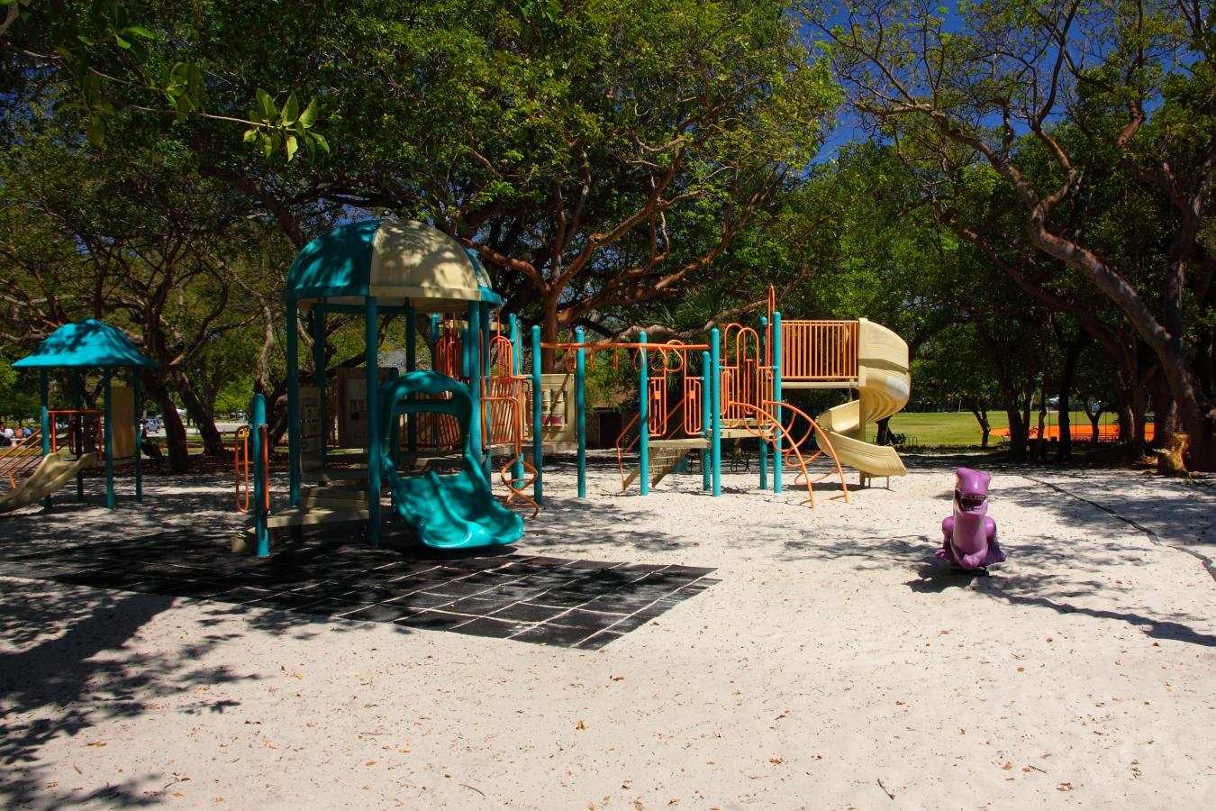 Peacock Park kids playground