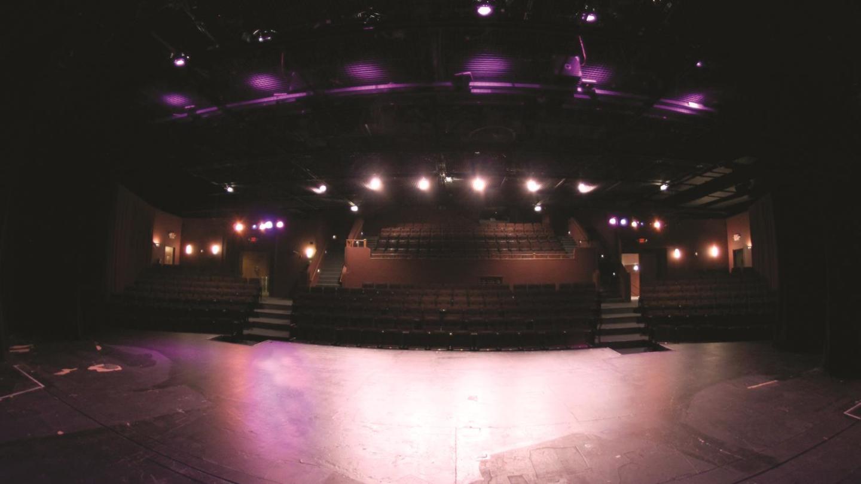 The 300-seat Balcony Theatre. Photo by Diego Pocovi.