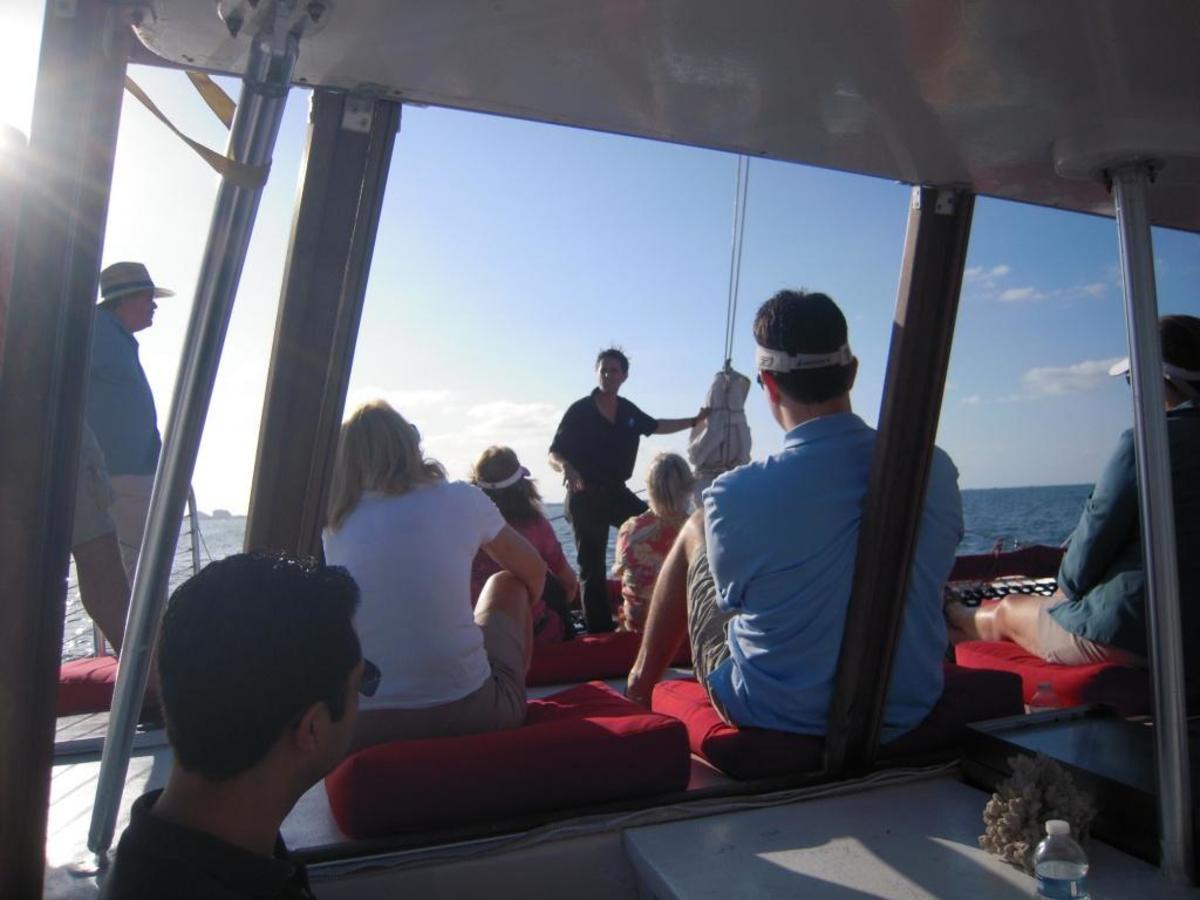 Sea Lore and Legends Catamaran Cruise