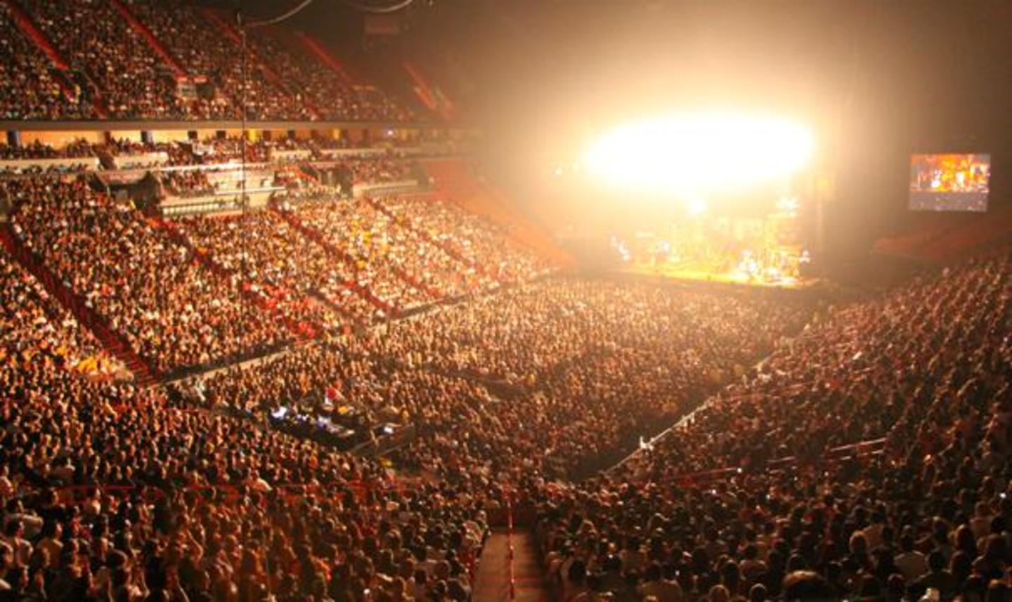 AmericanAirlines Arena Concert Bowl