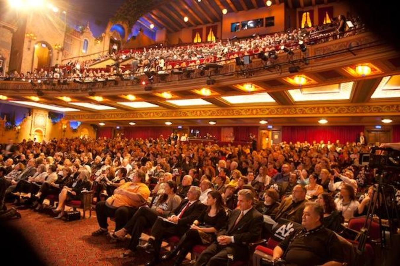 Pubblico MIFF presso Olympia Theater 'S Gusman Center for the Performing Arts