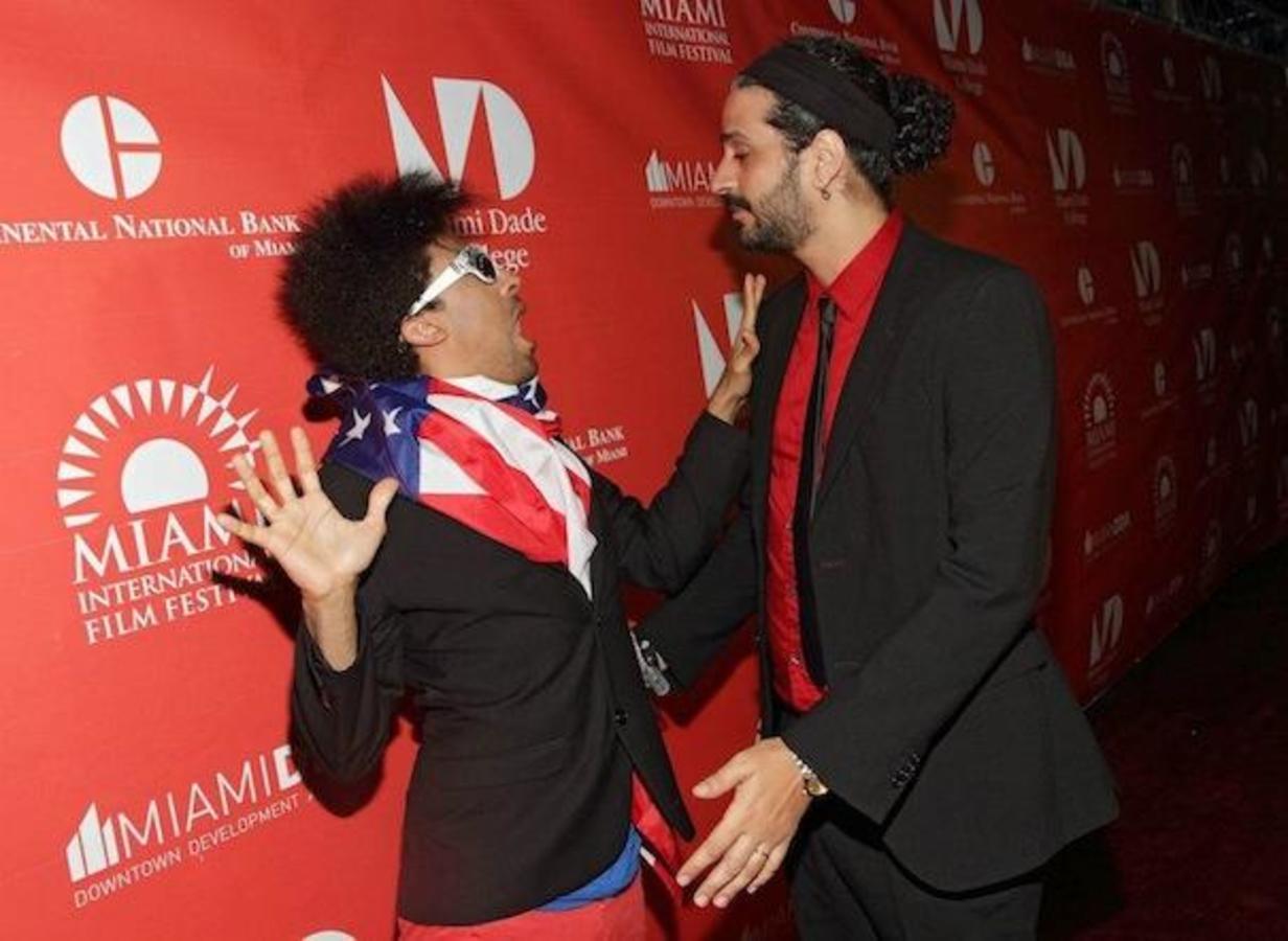 L'attore Juan de the Dead Jazz Vilá e il regista Alejandro Brugués