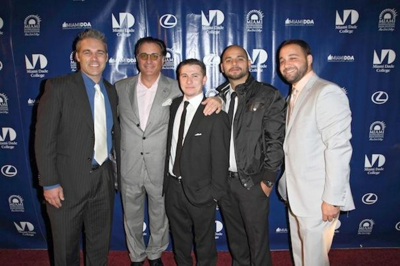 Il regista del MIFF Jaie Laplante, attore / produttore esecutivo Andy Garcia, i registi Jaydee Freixas e Aa
