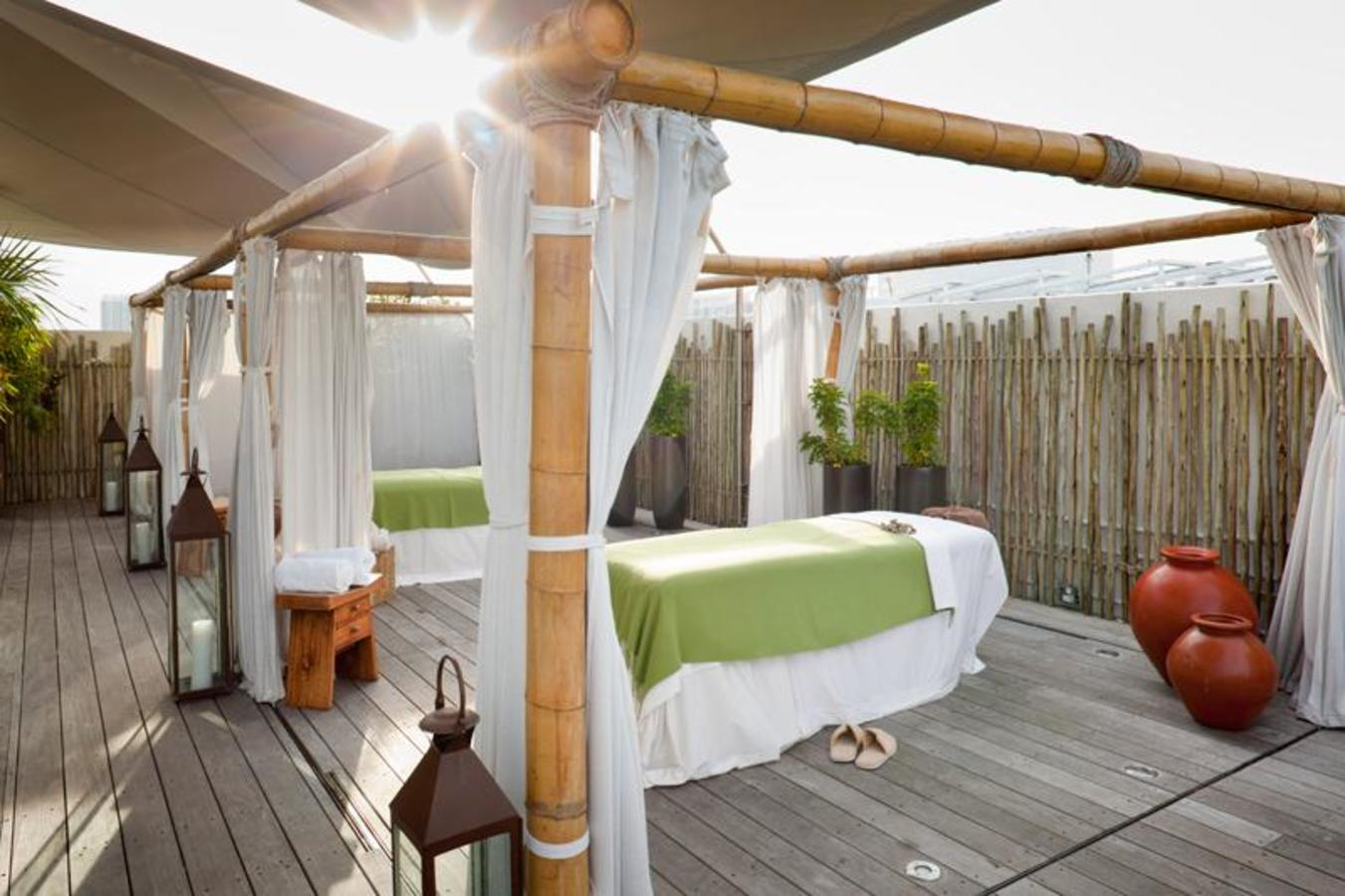 Spa Cabanas on The Deck