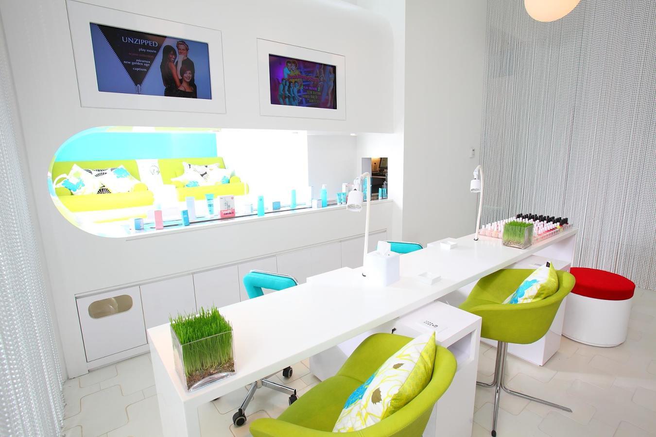 Bliss South Beach nail lounge.