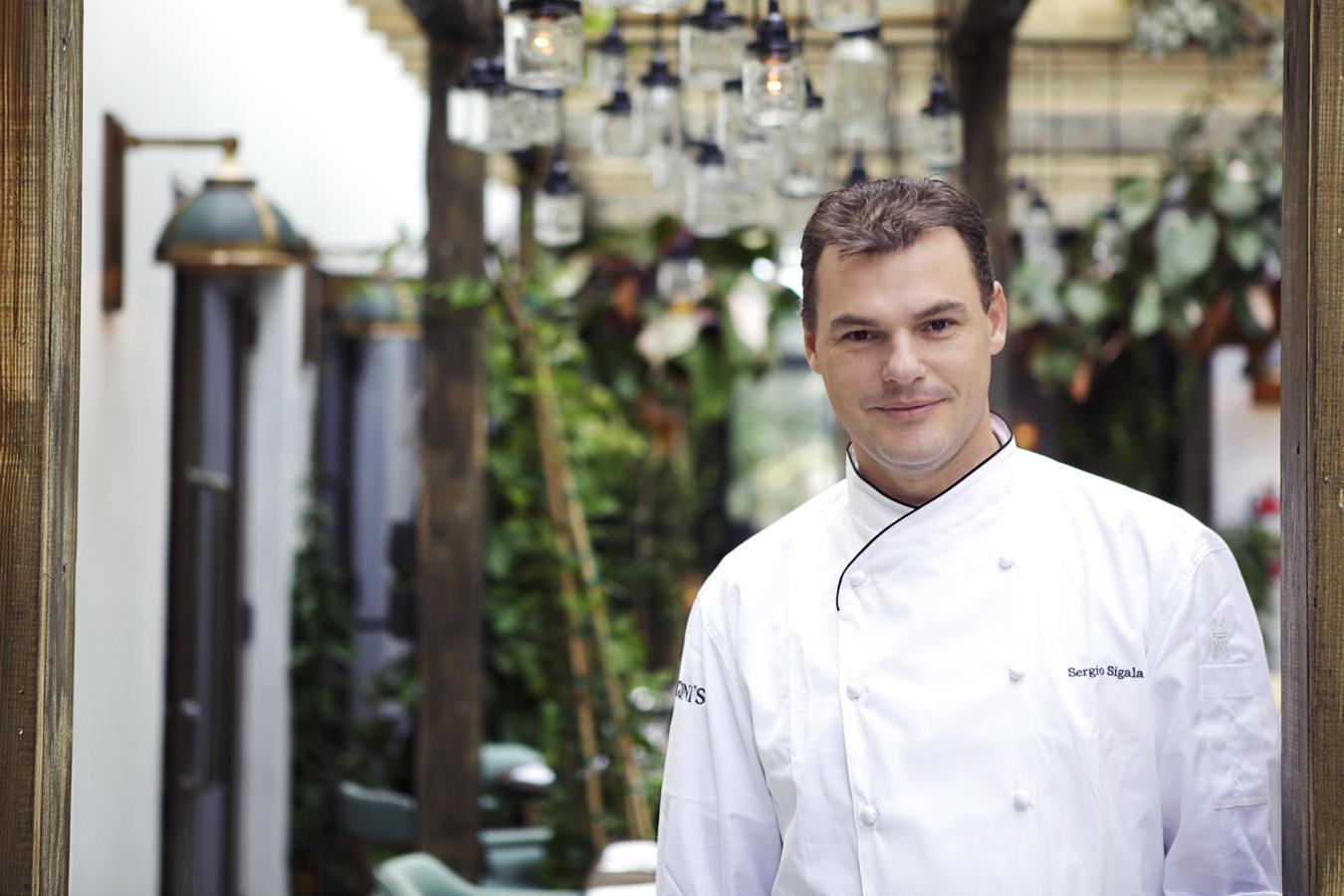 Cecconi's Chef Sergio Sigala