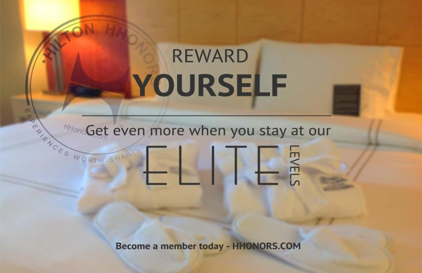 Reward Yourself by becoming Hilton Honors