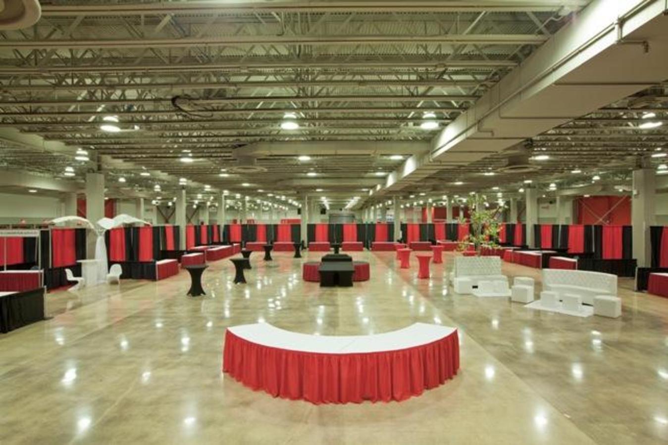 MACC West Hall Trade Show Setup