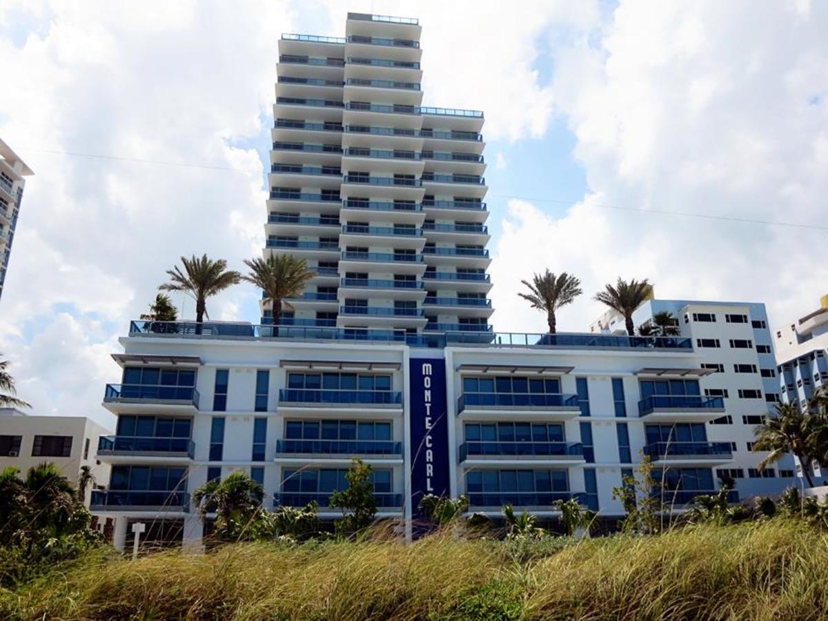 Vue de la propriété de Beach