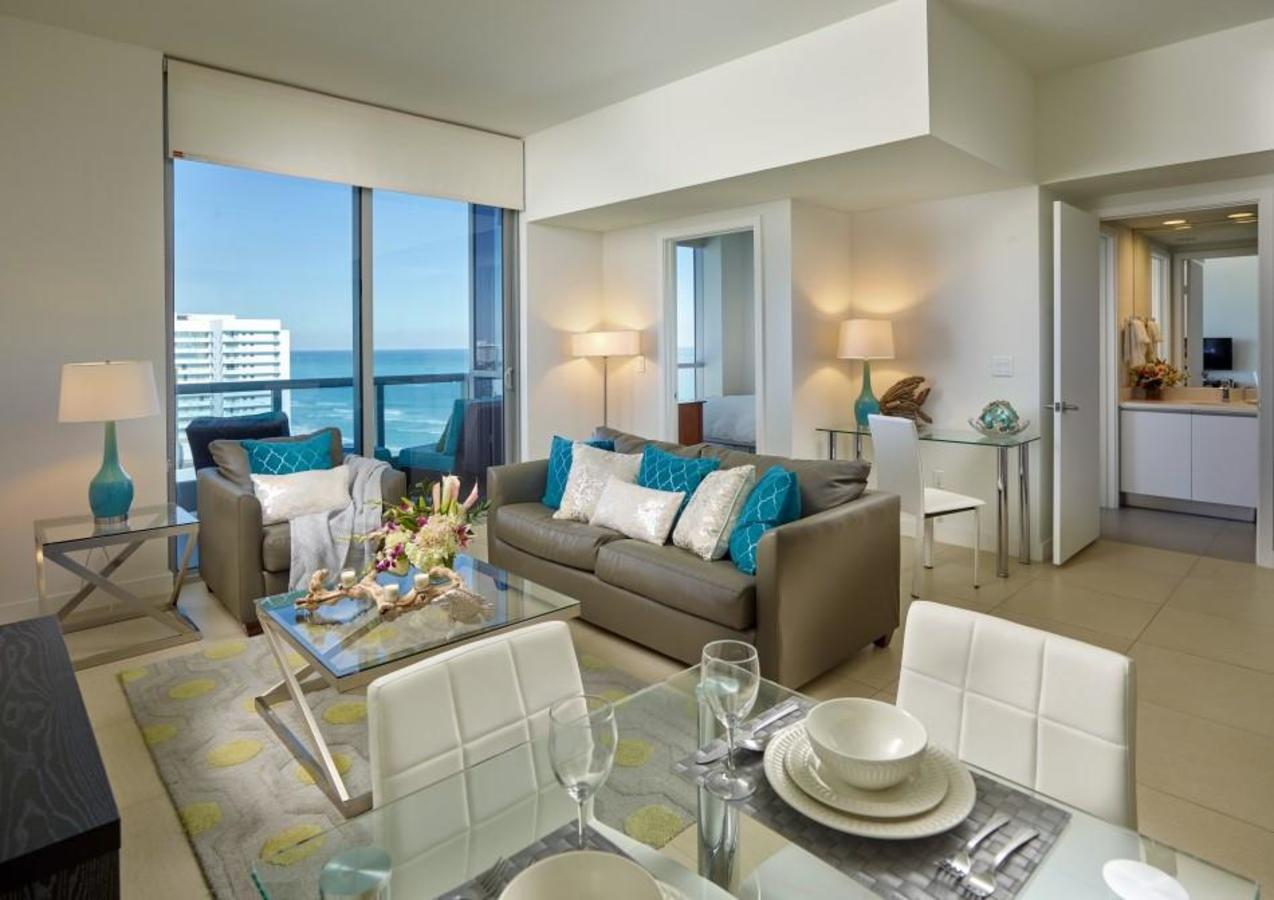Deluxe Ocean View one-bedroom apartment suite