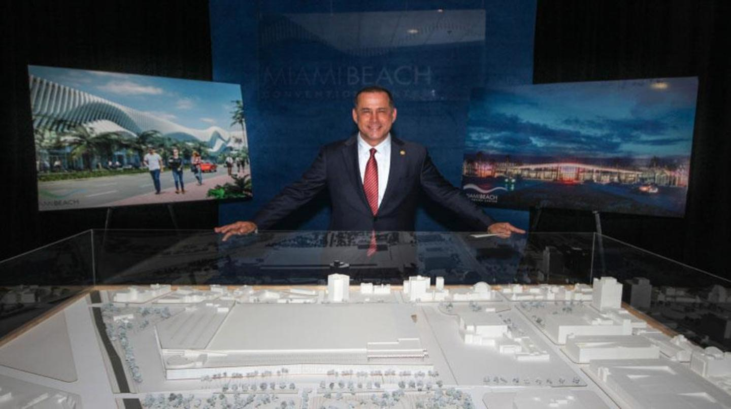 Mayor Levine Unveils Miami Beach Convention Center $615 million renovation project