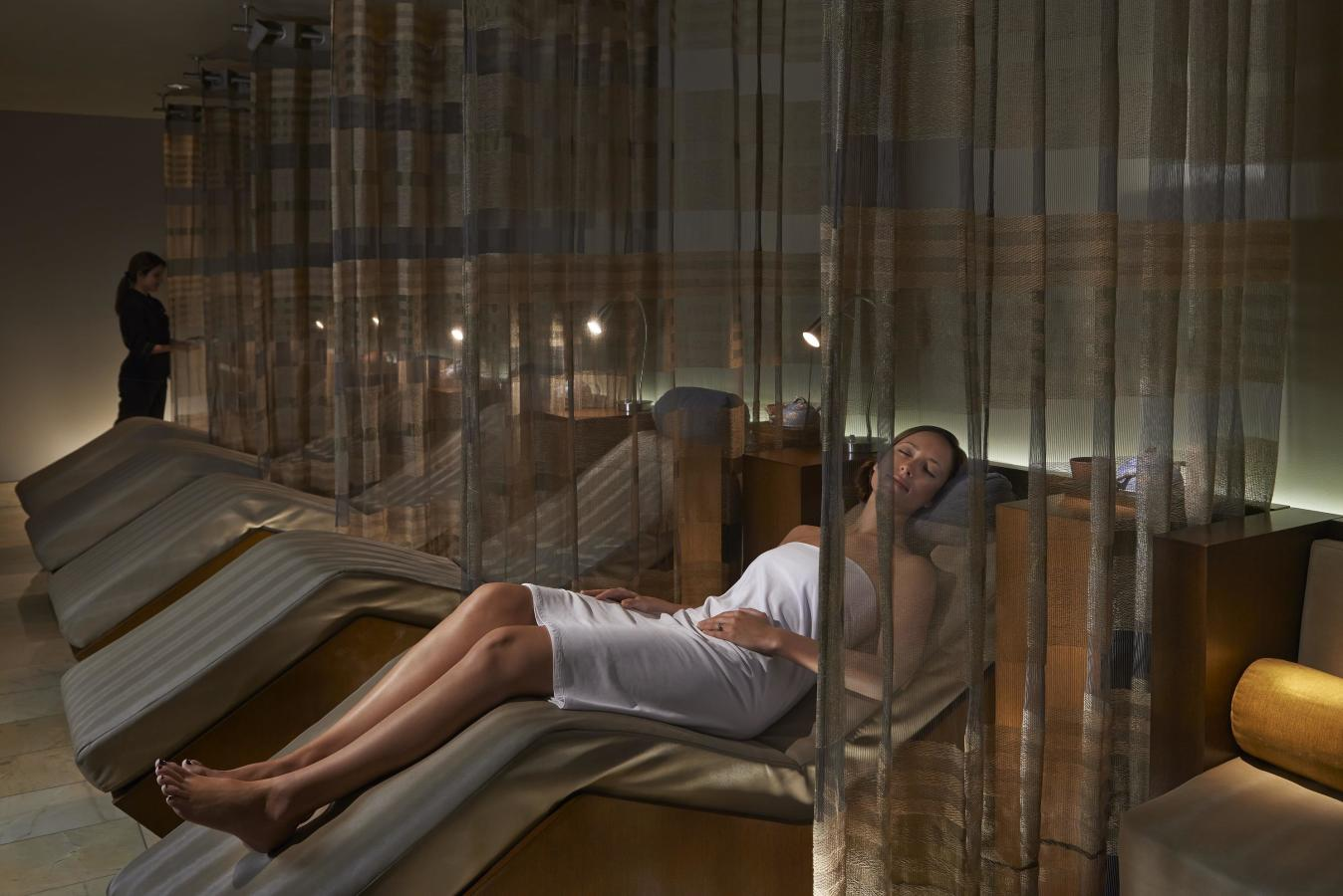 Relaxation Lounge at The Spa at Mandarin Oriental, Miami