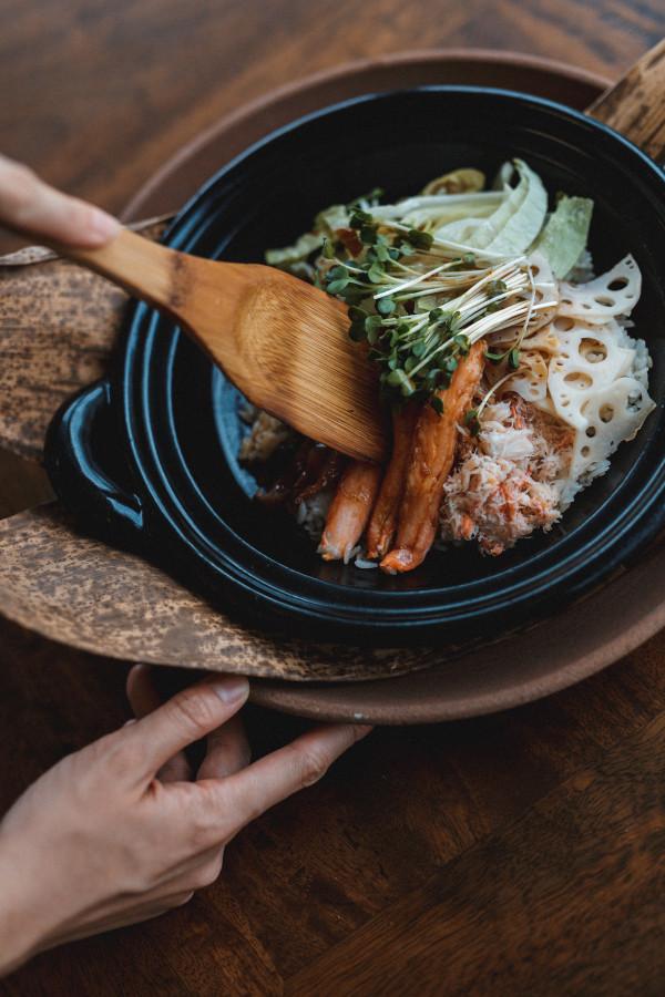 Crab & Lettuce Yakimeshi