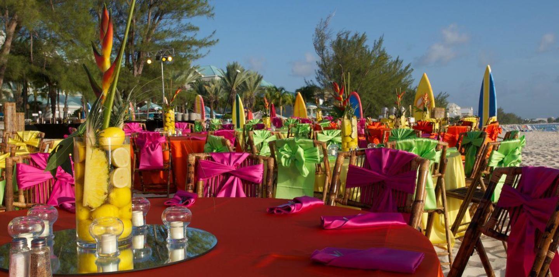Brillant coloré Beach Fête