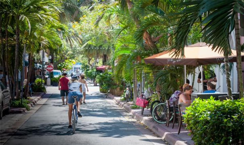 Pedestrian-only street