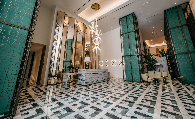 SLS Lux Lobby