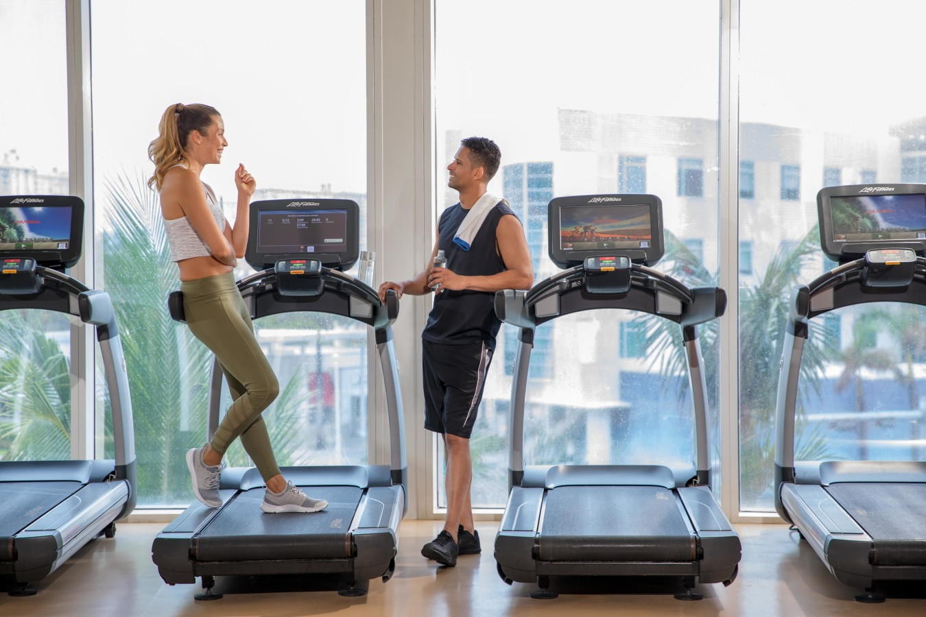 Fitness Center at Aquanox Spa