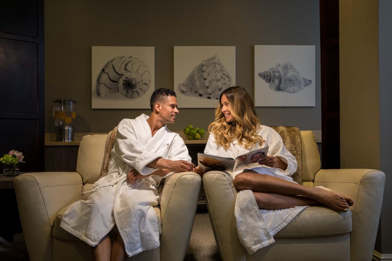 Aquanox Spa Relaxation Room