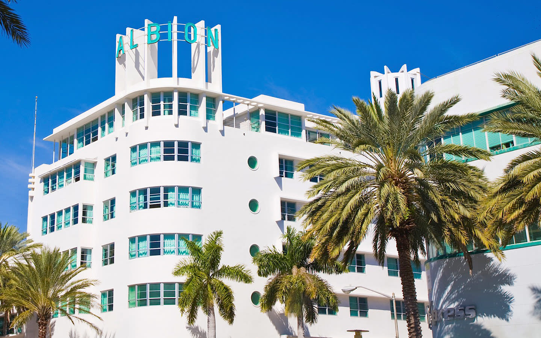 Albion Hotel Facade