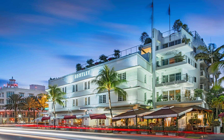 Bentley South Beach facade