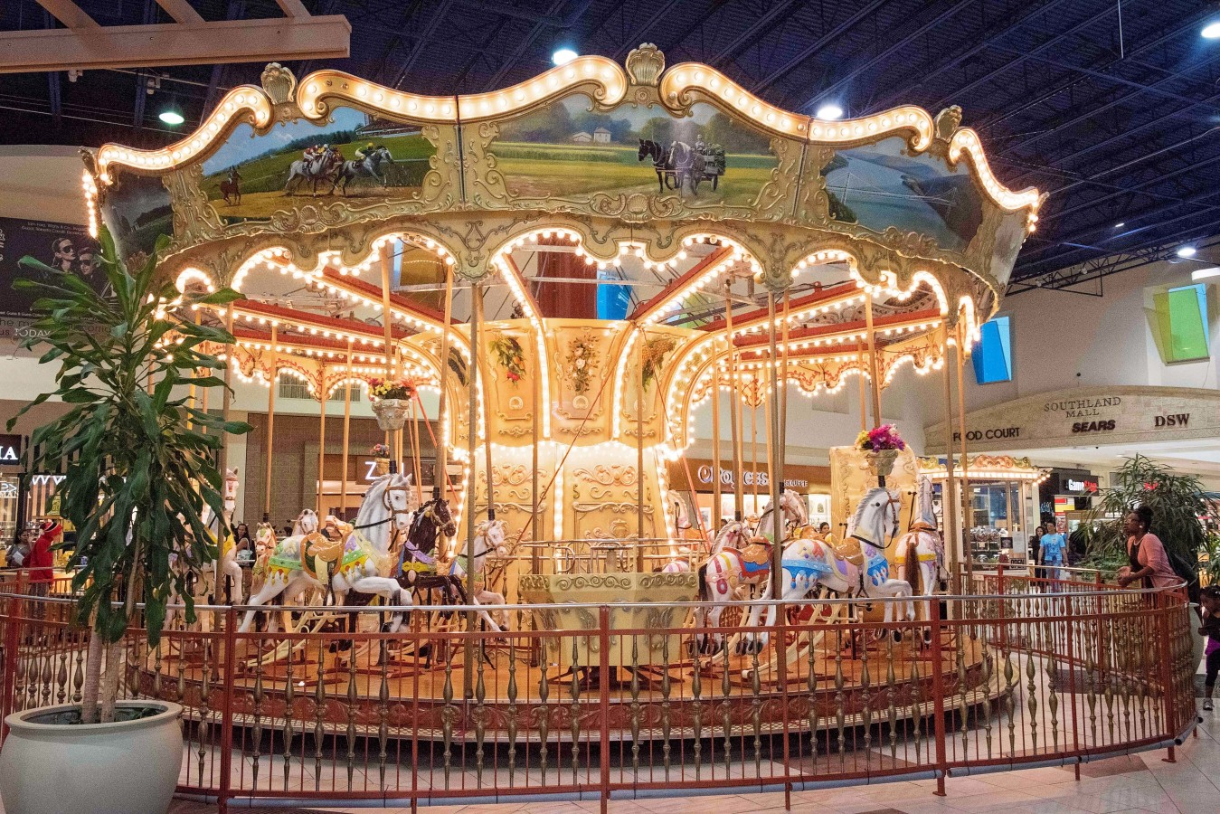 Children's Carousel at Southland Mall