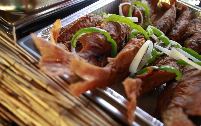Chef Creole Seafood Dish