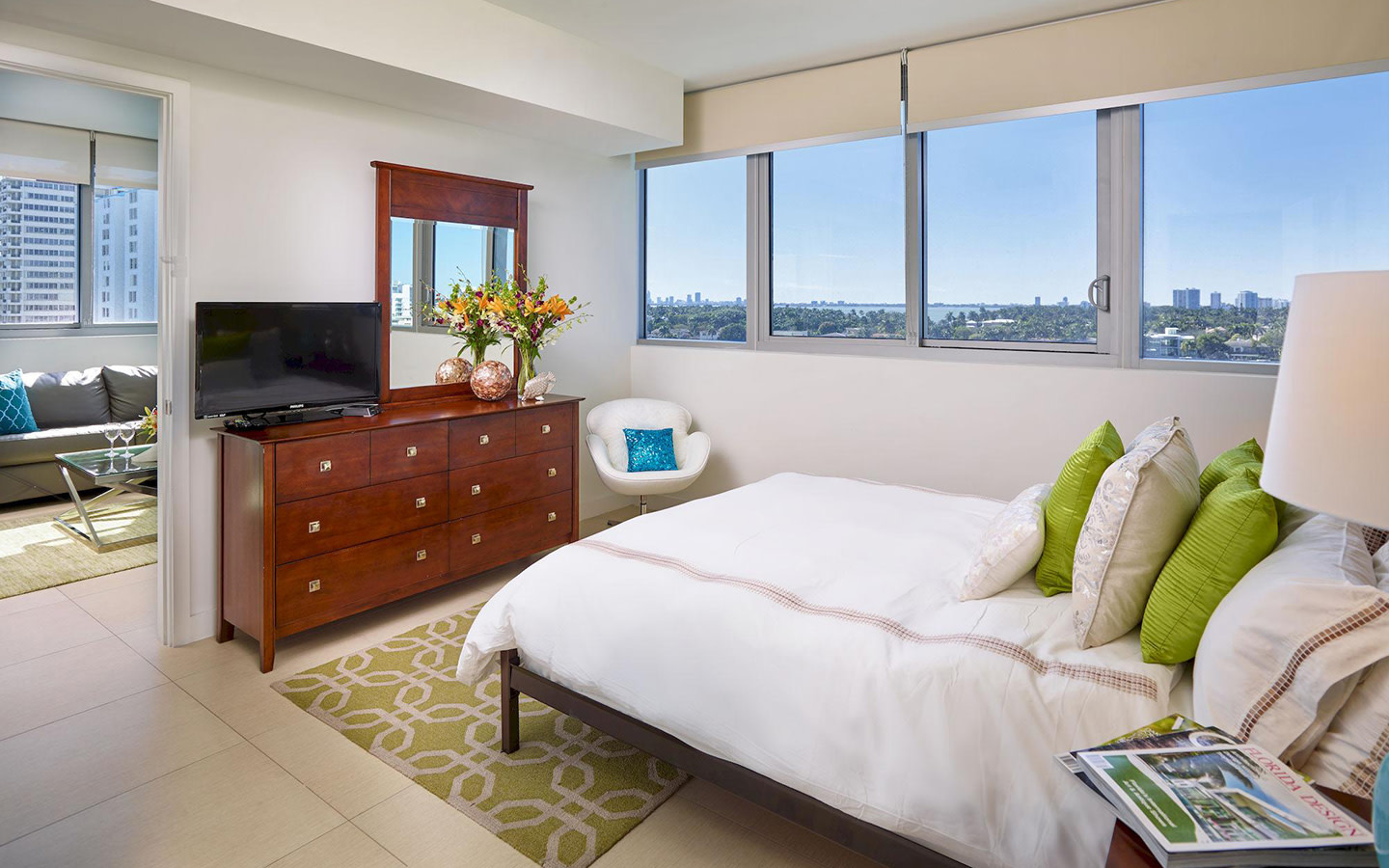 Suite 1 chambre Deluxe Bay Front