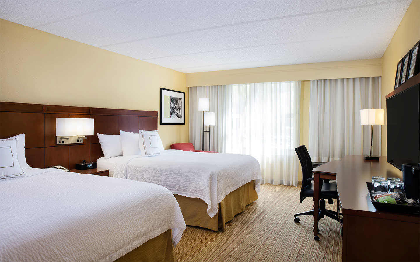 Standard Guestrooms with Two Queen Size beds