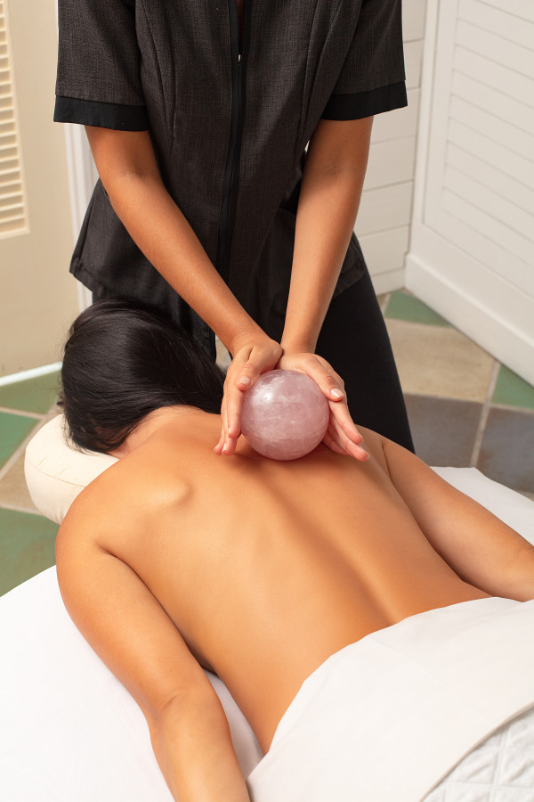 Customized Crystal Massage Journey Powered by Glacce at The Spat at The Confidante